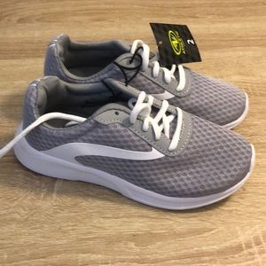 Athletic Works boys shoes in light gray